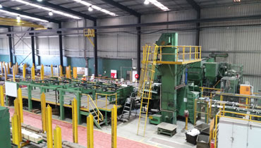 Shot-Blasting, Steel Processing and Engineering Services, Milltech Martin Bright